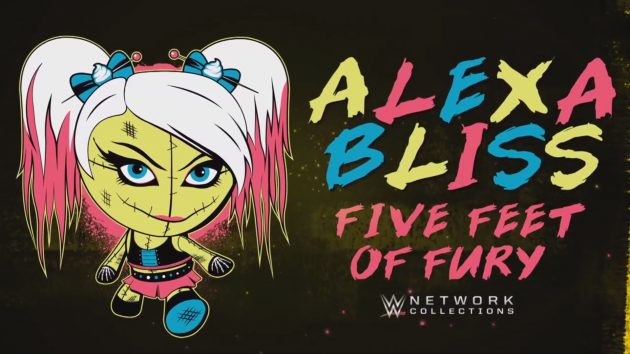alexa bliss five feet of fury wwe network collection now available