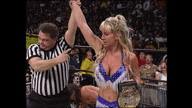 10 WWE Female Superstars Who Won Men's Championships 1