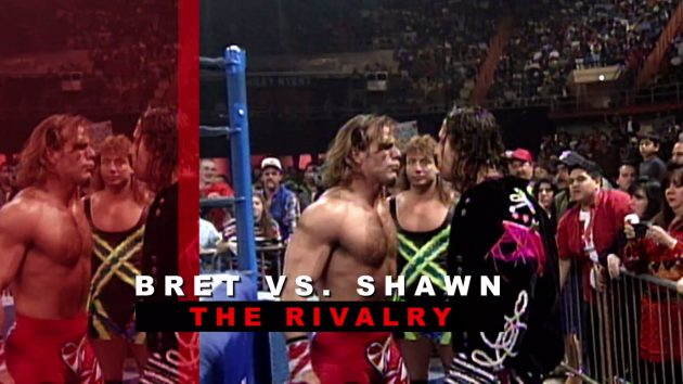 Full official listing for upcoming bret vs shawn wwe network in the first of 4 collections set to be added to wwe network in november here is the official description and listing for bret hart vs shawn michaels the m4hsunfo