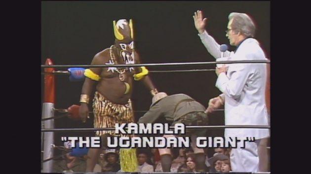 Image result for kamala wrestler 1984