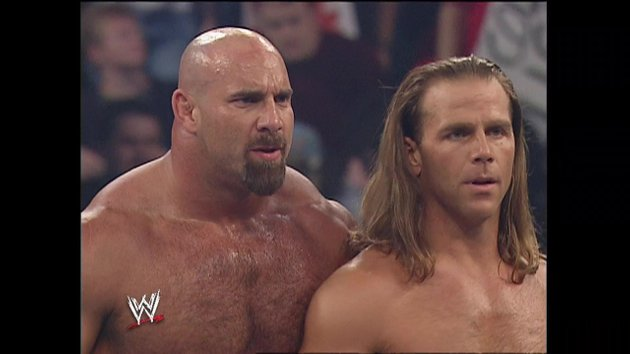 Today In Wrestling History Via Wwe Network 10 13 2019 Evolution And Mark Henry Battle Goldberg And Shawn Michaels Wwe Network News