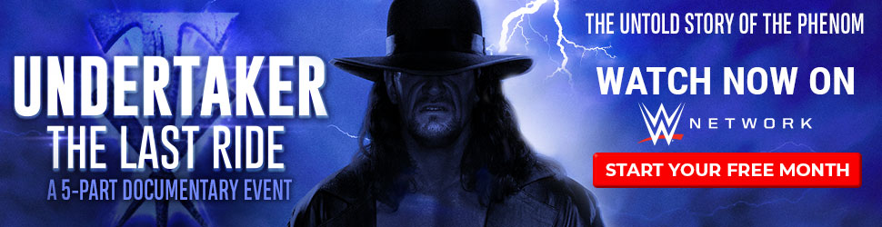 Undertaker - The Last Ride Documentary Series on WWE Network