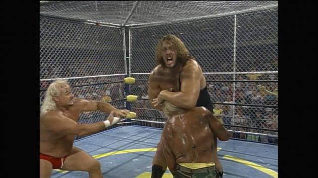 Throwback Thursday: WCW Fall Brawl '95: WarGames, As Seen on WWE Network |  WWE Network News